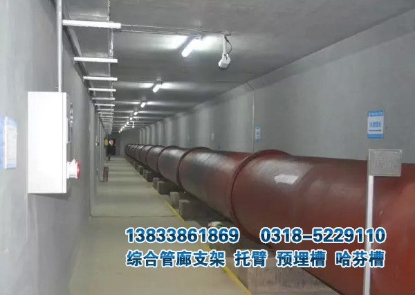 综合管廊水管支架
