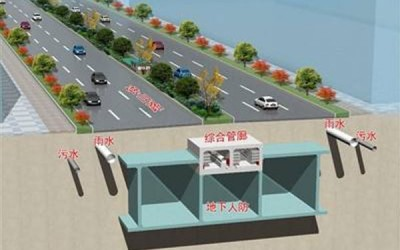 山东滨州地下管廊